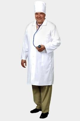 Мужской медицинский халат Х-129