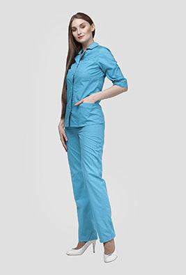 Медицинский костюм на кнопках К-238-С