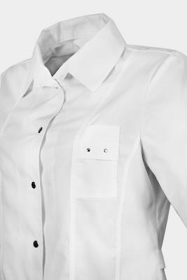 Медицинский костюм на кнопках К-238 БЕЛЫЙ СТИЛЬ