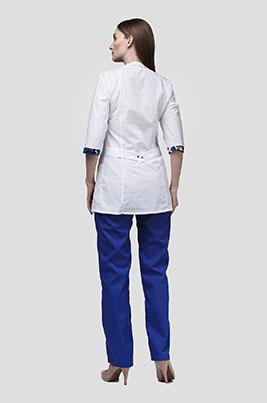 Медицинский костюм с отделкой К-282-S