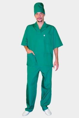 Мужской медицинский костюм К-403