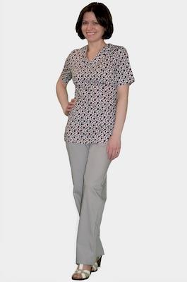 Медицинский костюм большого размера К 909-22