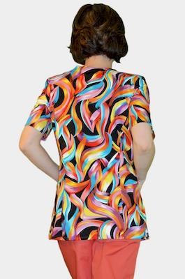 Цветной медицинский костюм К-909-6