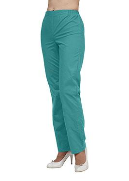 Медицинские брюки женские B-09(тон12,Тиси)