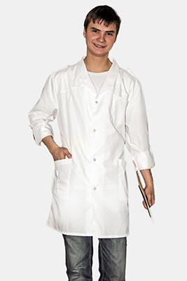 Белый халат, мужской Х - 129У