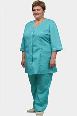 Медицинский женский костюм  К-47